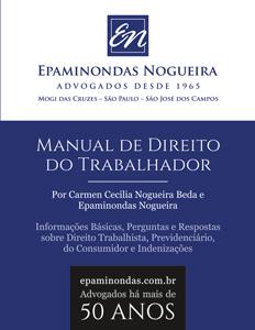 Livro de Bolso Epaminondas Nogueira Manual de Direito do Trabalhador