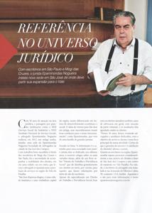 Referência no universo jurídico, na Edição Melhores do Ano da Revista Empreendedores, do Jornal O Vale, de 2015.